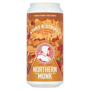 Northern monk Stars and Stripes craft ale 440ml - Tesco Yeading - £1.23