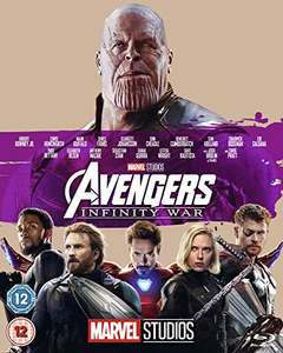 Marvel Avengers: Infinity War Blu-ray - £7 (+£2.99 Non Prime) @ Amazon