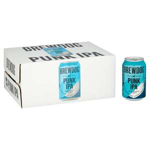 Brewdog punk 12x330ml £12 with clubcard @ Tesco