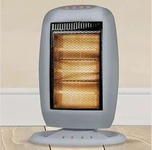 1200W Halogen Heater £4 (Free Collection / Limited Stock) @ Dunelm