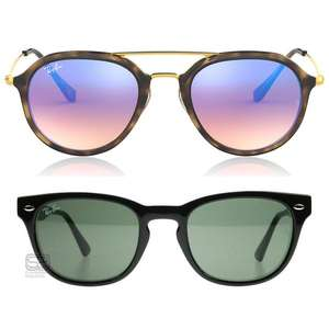 Up to 50% off Sunglasses, including Ray-Ban, Oakley, Prada etc + Extra 20% off with code + Free delivery & Returns @ The Sunglasses Shop