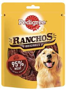 Pedigree Ranchos - Tender Dog Treats with Beef 70 g (pack of 7) £7.00 + £4.49 NP / £6.30 with S&S @ Amazon