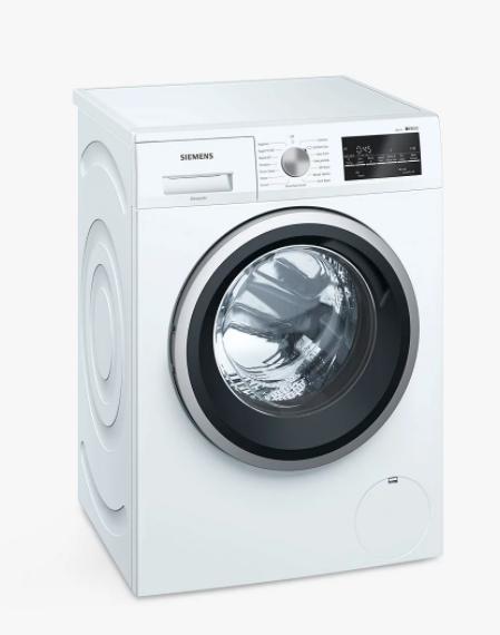 Siemens iQ500 WM14T488GB Freestanding Washing Machine, 8kg, A+++ £429 @ John Lewis & Partners
