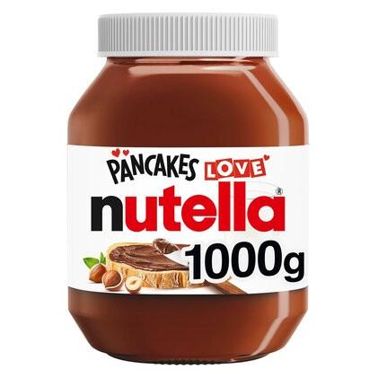 Nutella Hazelnut Chocolate Spread 1Kg for £3.99 @ Tesco