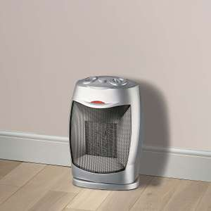 PTC 1500W Heater with Oscillation - £5 (Free Collection) Selected Stores @ Dunelm