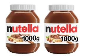 Nutella Hazelnut Chocolate Spread, 1 kg (Pack of 2) - £7.98 / £6.78 via Subscribe and Save (+£4.49 Non-Prime) Delivered @ Amazon