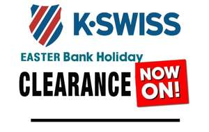 K-Swiss Clearance at Express Trainers + additional 25% off @ Express Trainers