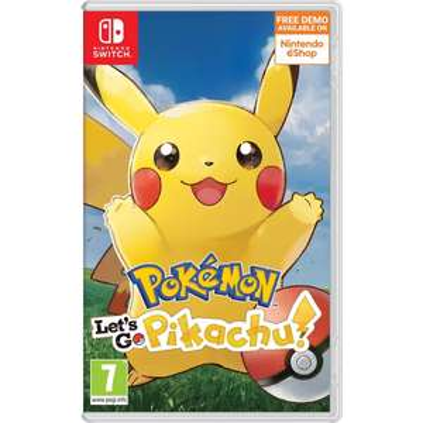 Pokémon Sword / Pokémon Shield / Pokémon: Let's Go Pikachu (Switch) £36.99 each @ Smyths