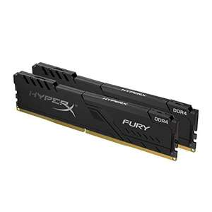 HyperX FURY Black Memory 32 GB Kit (2 x 16 GB) 3600MHz DDR4 CL18 £139 @ Amazon