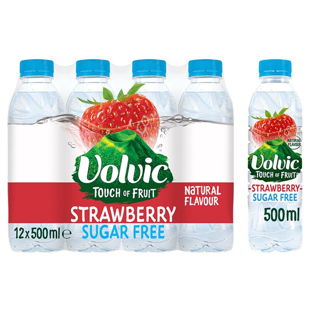 6pck Volvic strawberry 500ml water £1.49 @ Farmfoods (Sutton)