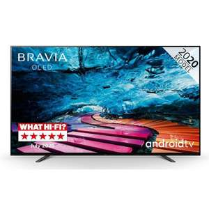 "Sony 65"" KD65A8 OLED 4K HDR Ultra HD Android TV + 5yr Warranty £1,639 @ Hills Sound and Vision"