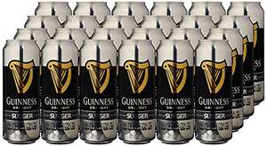 Guinness Surger cans x 24 (520ml) £43.51 at Amazon