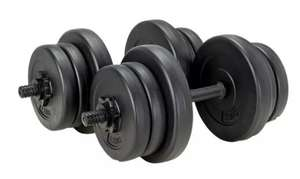 Opti Vinyl Dumbbell Set - 20kg £29.99 Free Click & Collect or £3.99 del UK Mainland at Argos