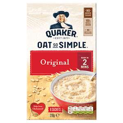 Quaker Oats Big Bowl 8 & 6 Pack Original / Golden Syrup 99p at Home Bargains (Northampton)
