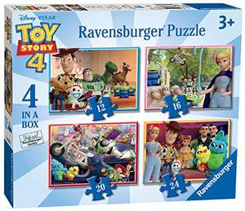 Ravensburger Disney Toy Story 4 - 4 in Box £3.86 (Prime) + £4.49 (non Prime) at Amazon