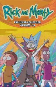 Rick and Morty: Volumes 1 - 4 (Exclusive Slipcase Edition) - £11.99 Delivered at Forbidden Planet