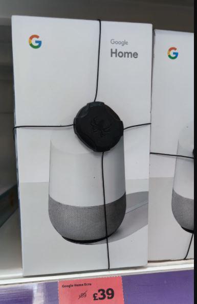 Google Home Speaker - White - £39 @ Sainsbury's Selly Oak