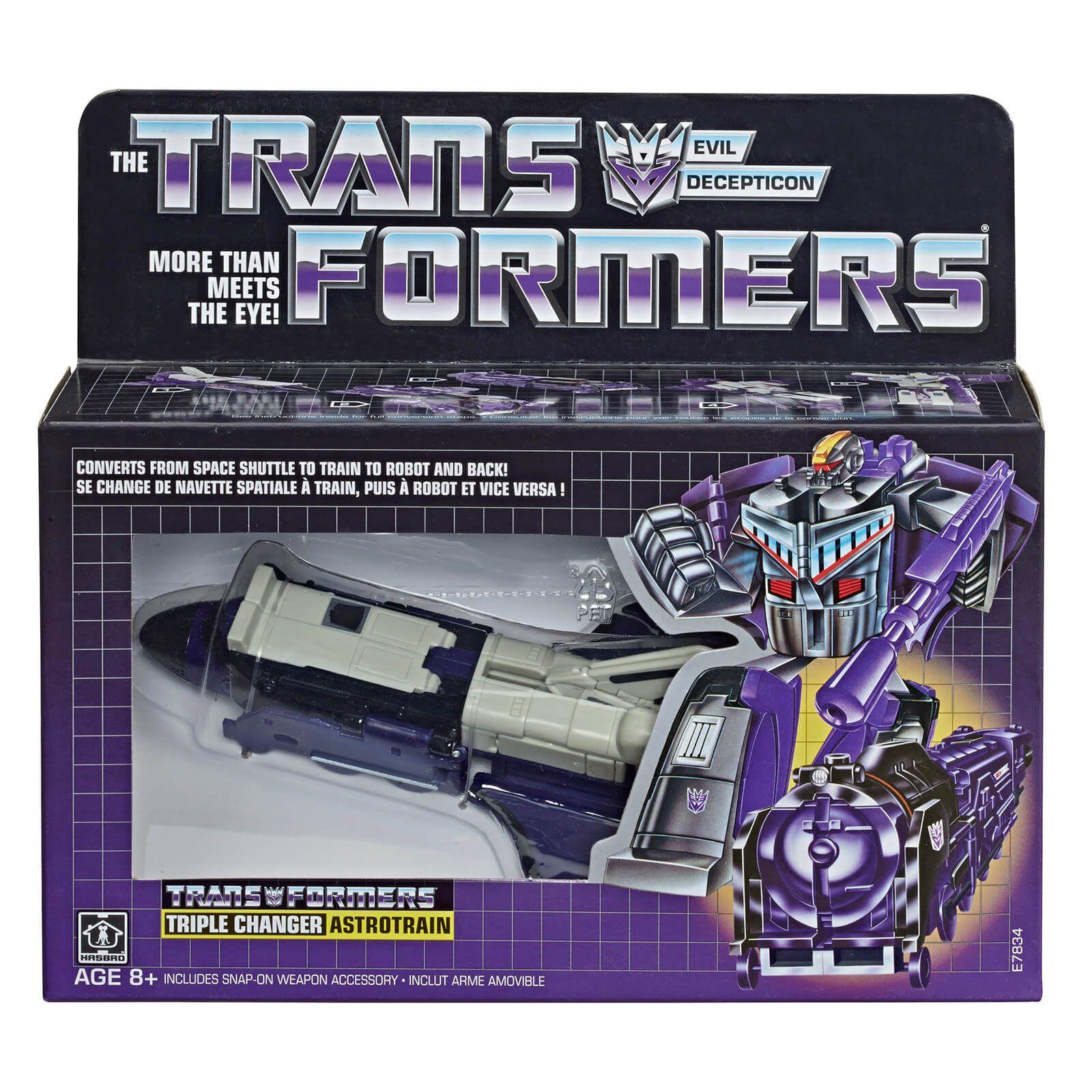 Transformers Vintage G1 Astrotrain - £14.99 delivered with code @ Zavvi