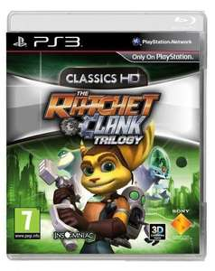 Ratchet & Clank Trilogy: HD Collection - PS3 physical NEW - £34.50 delivered @ Coolshop