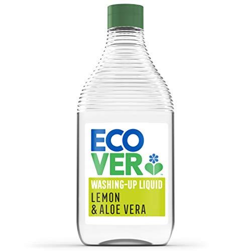 Ecover Washing Up Liquid, Lemon & Aloe Vera, 450 ml £1 (+£4.49 NP) Delivered @ Amazon