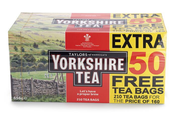 Yorkshire Tea Original, 210 £4 instore @ Morrisons, Sheffield