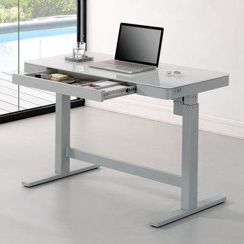 Tresanti Power Adjustable Height Tech Desk, White or Black - £319.99 @ Costco