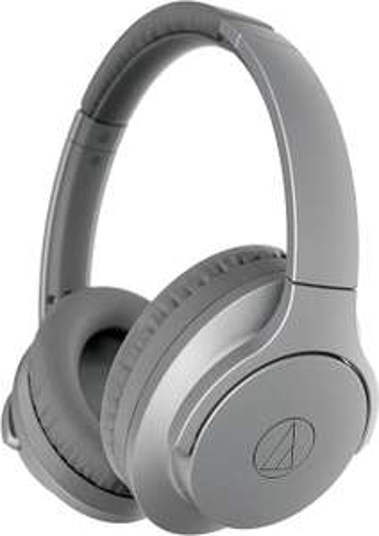 Audio-Technica ATH-ANC700BTGY Wireless Noise-Cancelling Headphones Grey - £58 29 @ Amazon