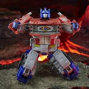 Transformers Toys Generations War for Cybertron: Kingdom Leader WFC-K11 Optimus Prime Action Figure - £38.02 @ Amazon