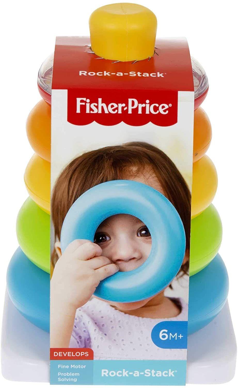 Fisher-Price Rock-a-Stack - £7.20 Prime / +£4.49 non Prime @ Amazon