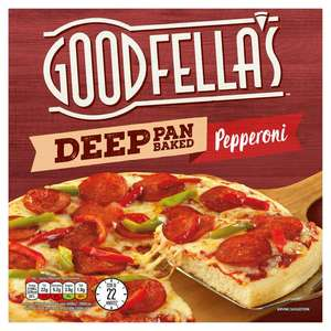 Goodfellas Deep Pan Pizza (Cheese or Pepperoni)- 99p Instore @ Lidl