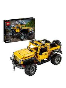 LEGO Technic Jeep Wrangler Toy Car 42122 £35.99 free click and collect at Very