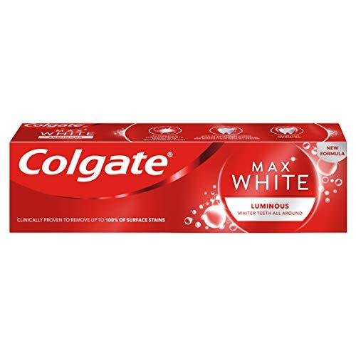 Colgate Max White Luminous Teeth Whitening Toothpaste 75ml Toothpaste £1.94 (+£4.49 Non Prime) £1.56 S/S @ Amazon