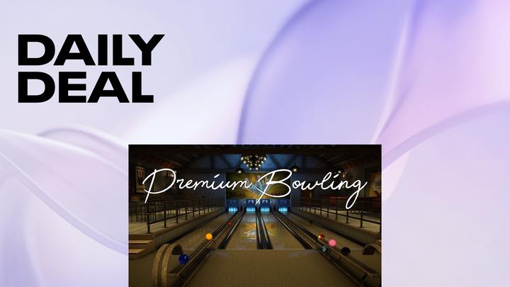 Premium Bowling £13.49 @ Oculus Quest store