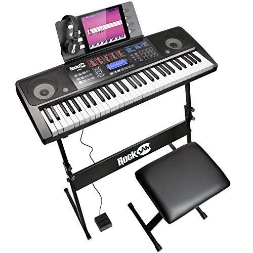 RockJam RJ761-SK 61 Keyboard Piano Kit 61 Key Bench Keyboard Stand Headphones Sustain Pedal Used Acceptable £49.04 @ Amazon Warehouse