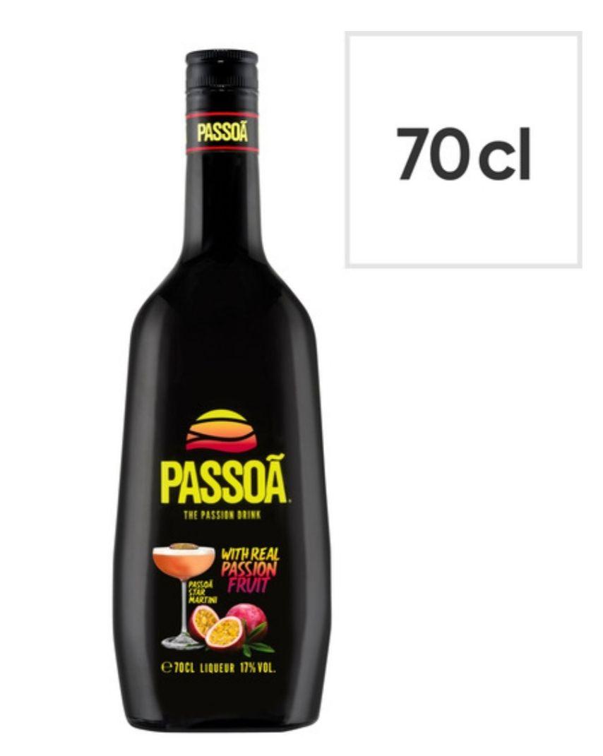 Passoa Passion fruit liqueur alcohol 70cl for £10.80 Tesco (Clubcard price)