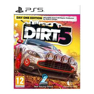 DIRT 5 Day One Edition PS5 £23.70 @ TheGameCollection