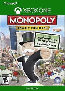 Monopoly Family Fun Pack (Xbox One) £6.99 at CDKeys