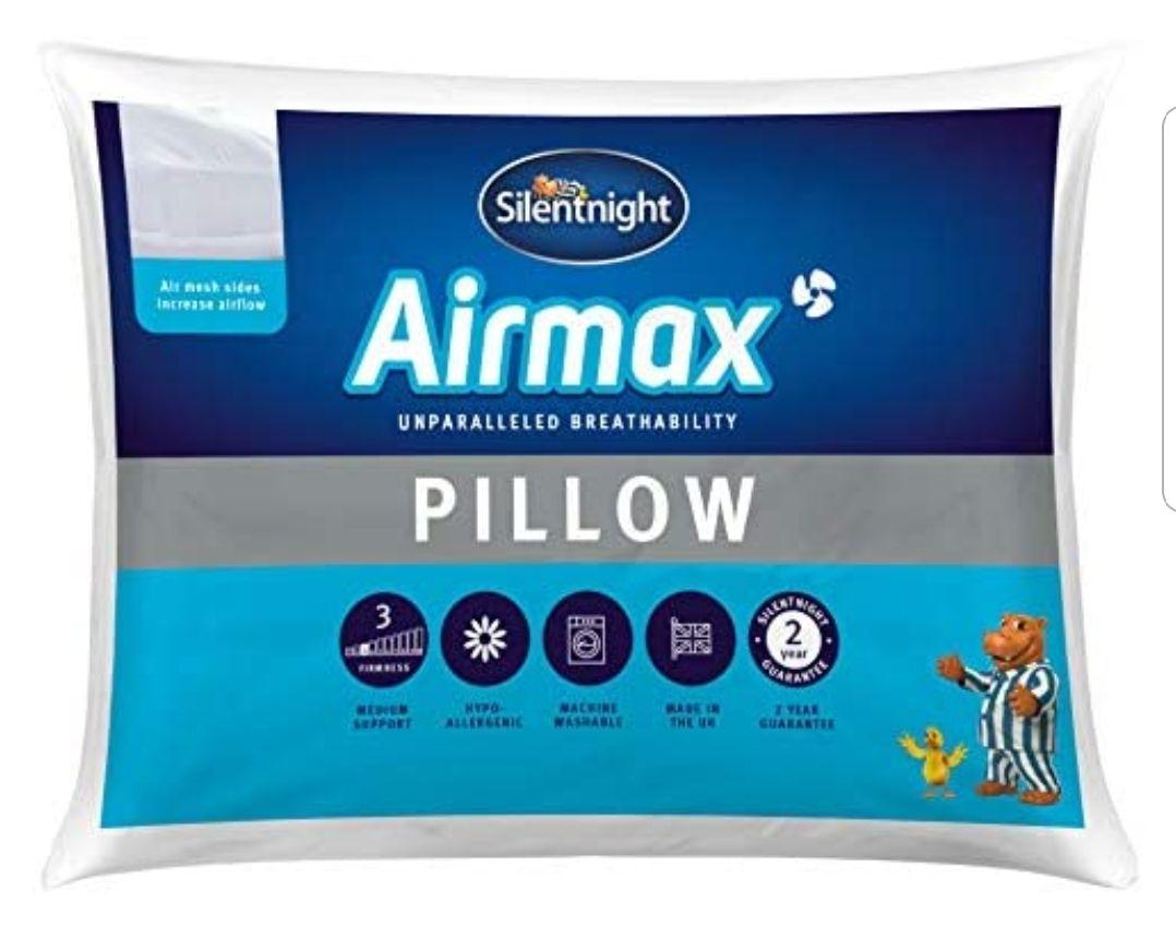 Silentnight Airmax Pillow £9 at Argos