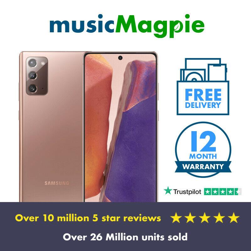 Samsung Galaxy Note 20 5G 256GB Bronze Unlocked (Very Good Condition) £589.89 @ Music Magpie eBay