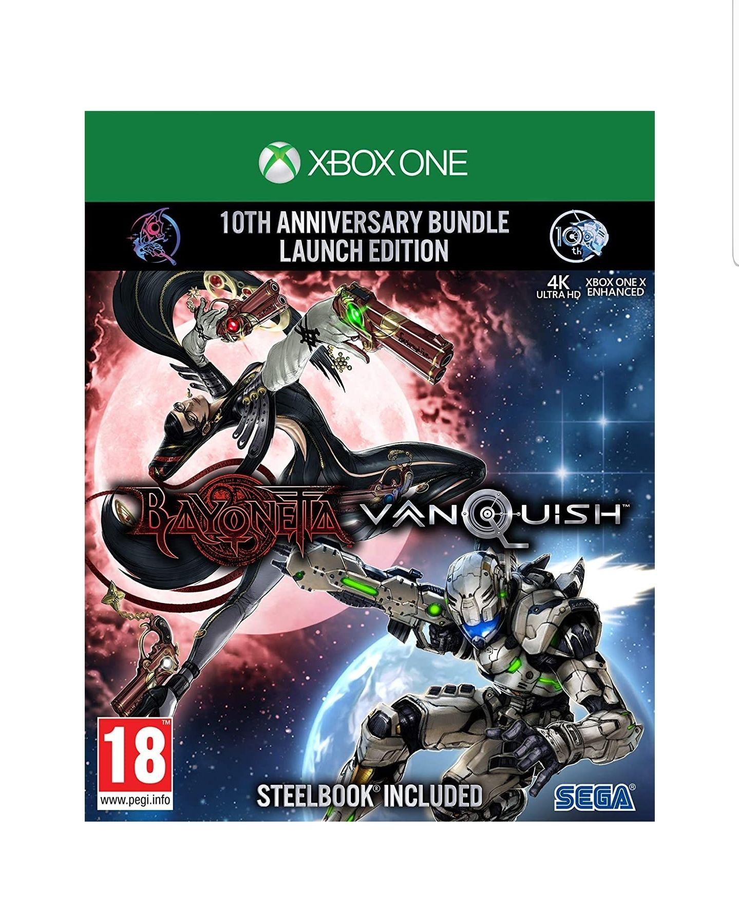 Bayonetta & Vanquish 10th Anniversary Bundle (Xbox One) £11.61 Amazon Prime / £14.60 Non Prime @ Amazon