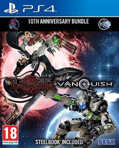 Bayonetta & Vanquish 10th Anniversary Bundle (SteelBook Included) PS4 £12.00 +£1.95 delivery @ CeX