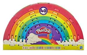 Play-Doh Ultimate Rainbow 40 Pack of Non-Toxic Colours £10 (Free click & collect) @ George (Asda)