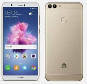 """NEW Huawei P Smart FIG-LX1 4G 5.6"""" Smartphone 32GB Sim Free Unlocked - Gold - £83.99 With Code @ Cheapest_Electrical / Ebay"""