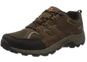 Merrell Moab 2 Low Lace Brown Size 13 only £18.16 prime / £22.65 non prime @ Amazon