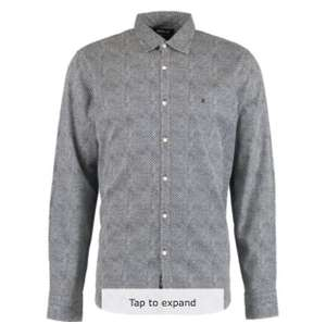 REPLAY Navy Diamond Print Long Sleeve Shirt £16 + £3.99 delivery = £19.99 delivered @ TK Maxx