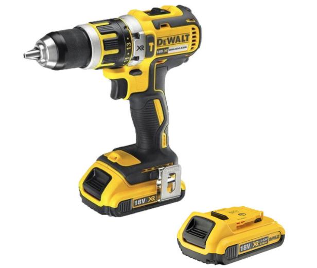 DEWALT 18V XR Li-Ion Brushless Compact Hammer Drill Driver & 2 AH Batteries - £139.99 @ Costco