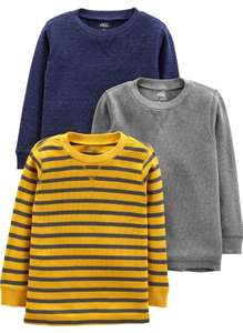 Boy's 3 pack of long sleeve tops age 2 now £7.62 (+£4.49 Non-Prime) at Amazon