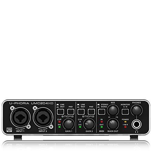 Behringer U-PHORIA UMC204HD Audio Interface £55.09 from Amazon