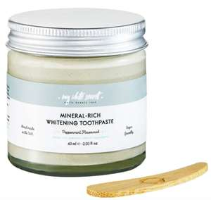 My White Secret Natural Toothpaste In A Jar 103ml - £3.25 (Free Click & Collect) @ Holland & Barrett