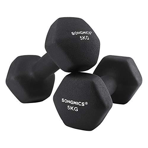2 x 5 kg Dumbbells £28.99 Delivered using code @ SONGMICS